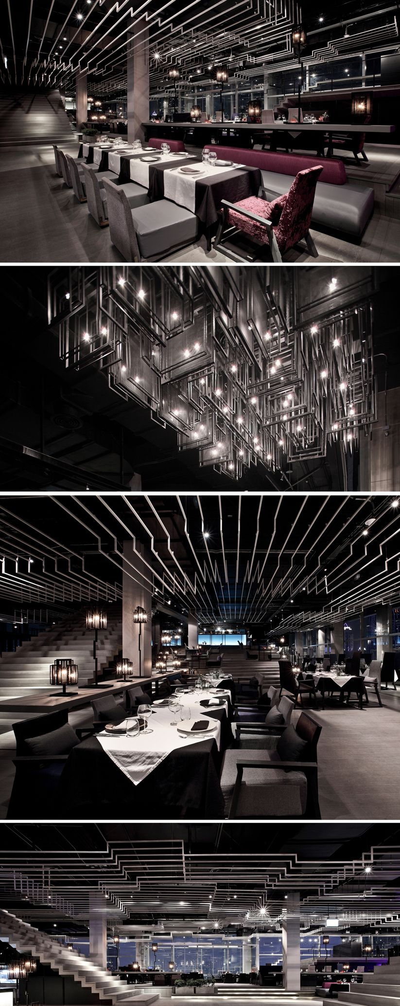 Zense_The Rebirth_Bangkok_Ceiling Feature Concept by Department of Architecture
