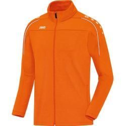 Photo of Jako ladies leisure jacket Classico, size 40 in neon orange, size 40 in neon orange Jako