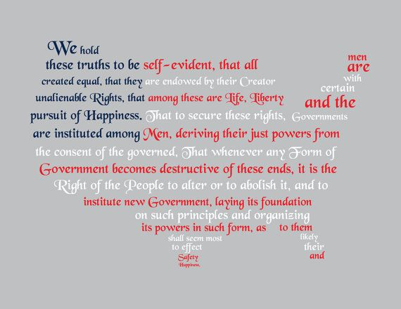 an analysis of the declaration of independence of the united states Ratified on july 4, 1776, the declaration of independence effectively formed the united states of america it was signed by 56 delegates to the continental congress, and outlined both the philosophical and tangible reasons for becoming independent from great britain.