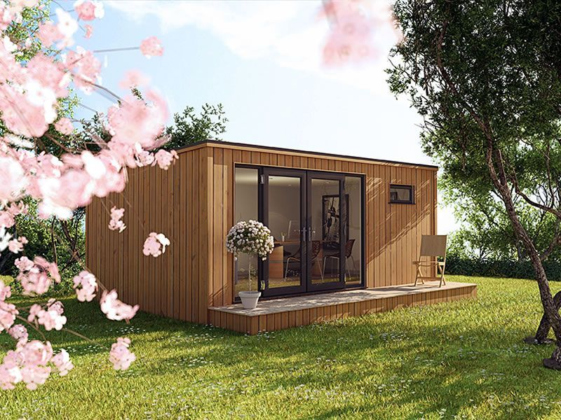 3m x 3m cube garden office garden rooms