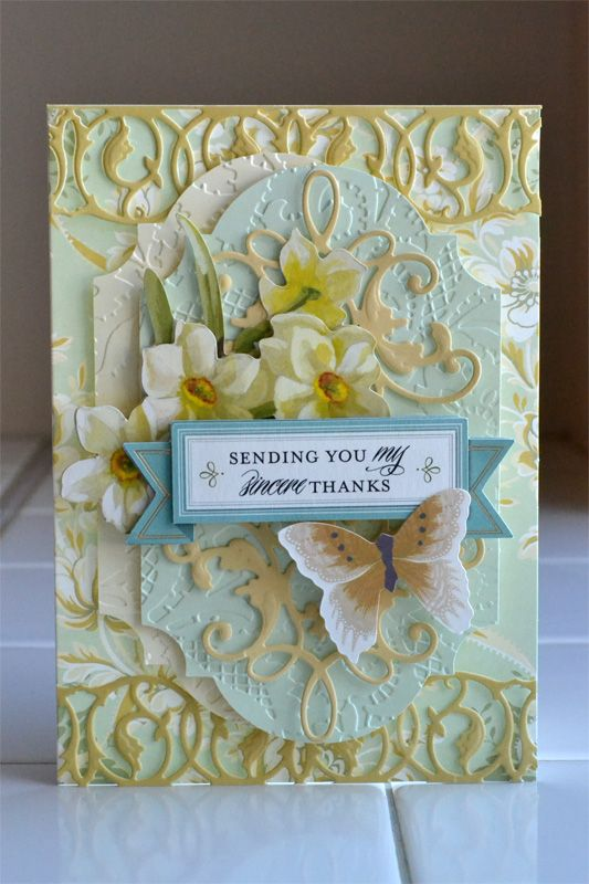 it happened like this...: anna griffin garden window card kit