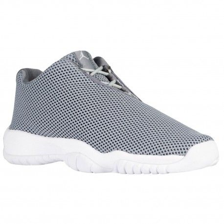 Jordan AJ Future Low - Boys' Grade School - Basketball - Shoes - Grey Mist/ White/Cool Grey-sku:24813003 | Jordan 11, Future and Wholesale jordans