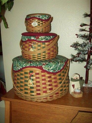 Longaberger Christmas Basket.Longaberger Longaberger In 2019 Basket Decoration