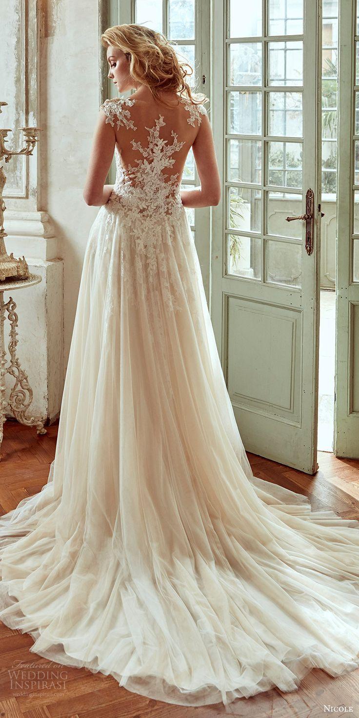 Nicole 2017 Wedding Dresses | Wedding dress, Unique weddings and Wedding