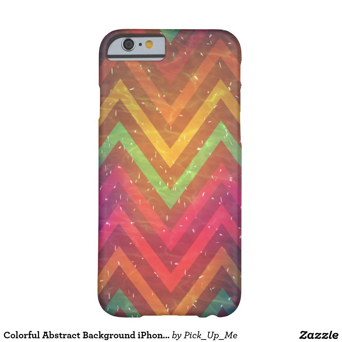 Colorful Abstract Background IPhone 6/6s Cases Barely