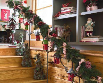 Guirlande Decorative Pour Rampe D Escalier Guirlandes