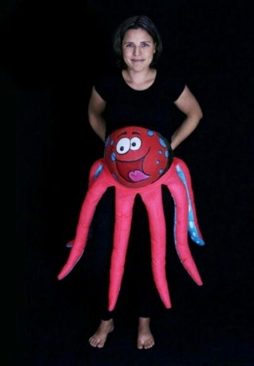 mamá pulpo disfraz mom  bby Pinterest - halloween costume ideas for pregnancy