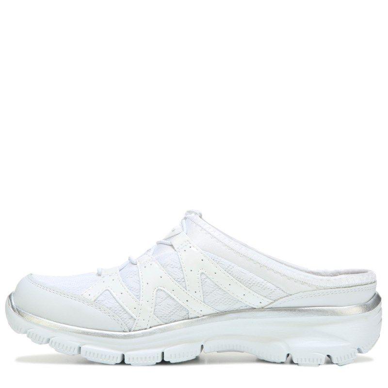 Skechers Women s Easy Going Repute Clog Sneakers (White)  521b824d49f4