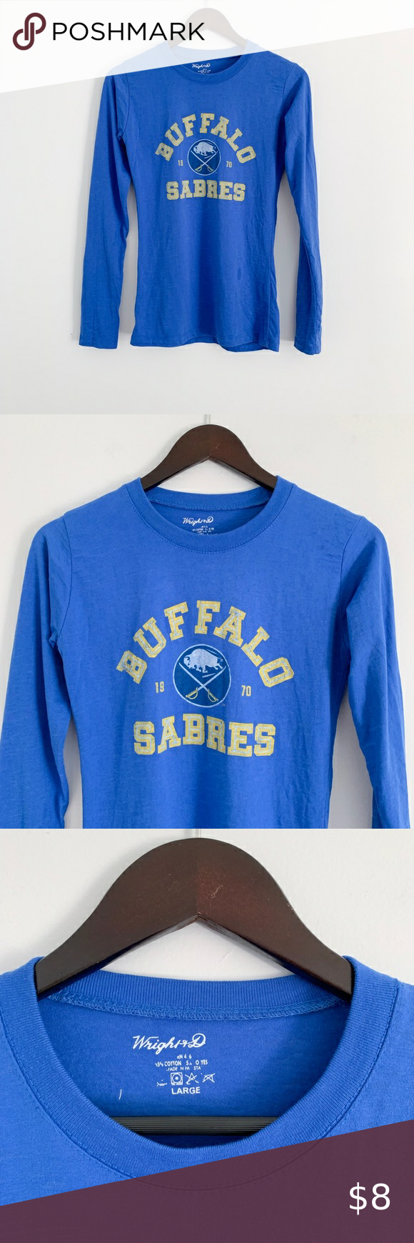 Vintage 90 S Buffalo Sabres Logo 7 Crewneck Sweatshirt Sz L Vintage Sportswear Crew Neck Sweatshirt Sweatshirts [ 1443 x 1203 Pixel ]