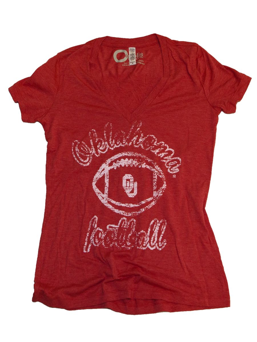 Oufootballwomenstriblendvneck vintage shirts mens