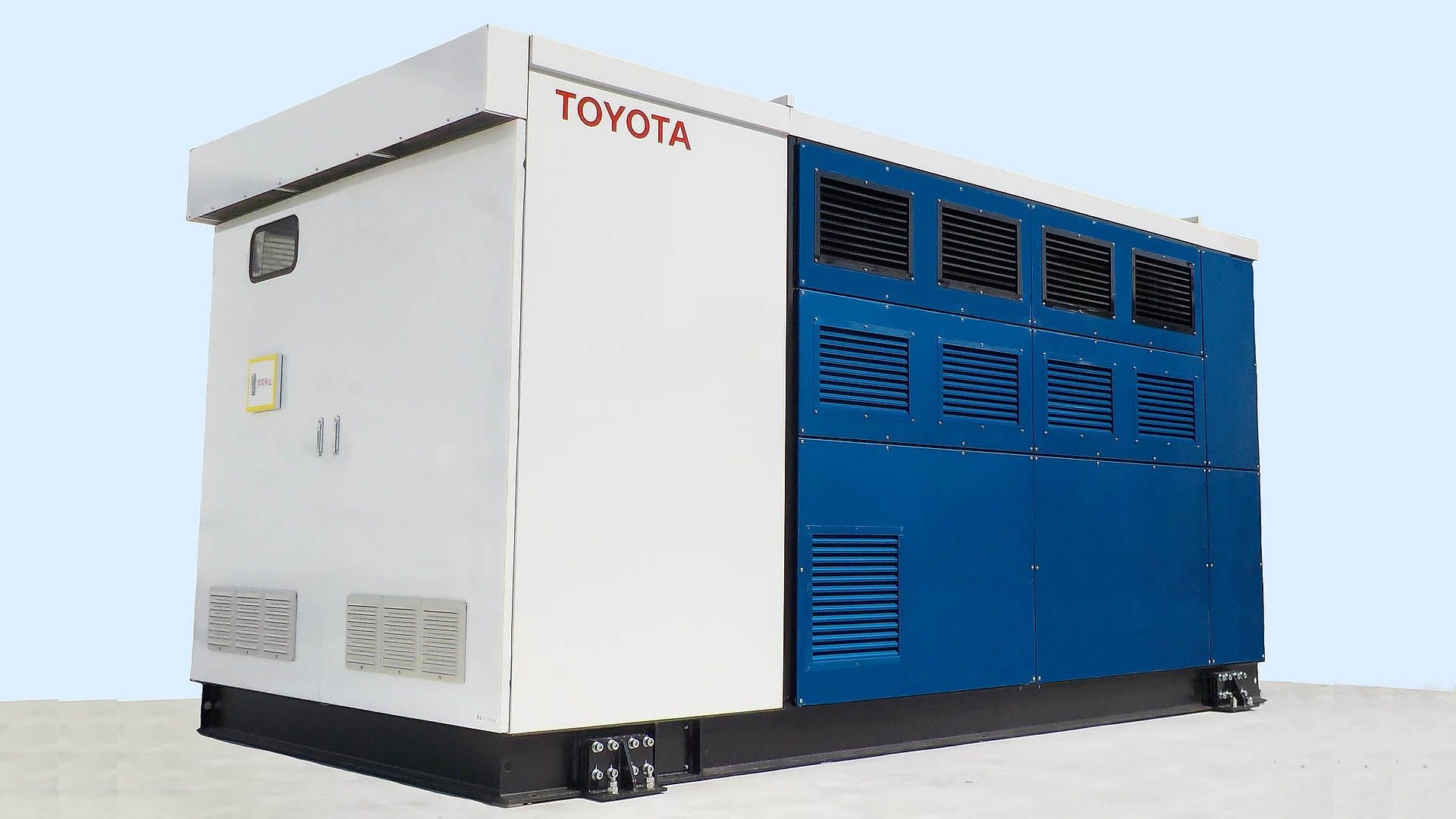 With Toyota's Hydrogensets, Tesla Soon Can Dump Diesel