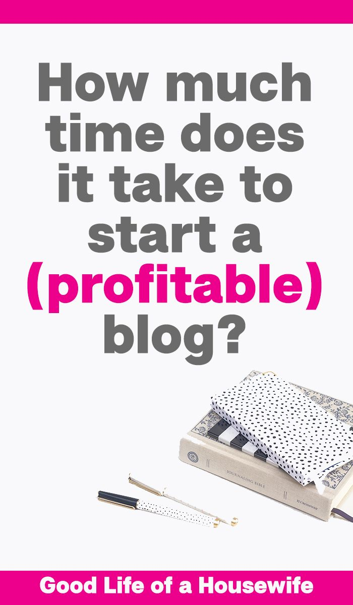 How much time does it takes to start a profitable blog ...