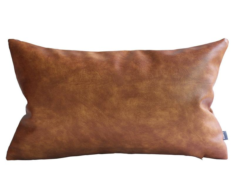 Thick Faux Leather Pillow Tan Pillow Cover Decorative For Etsy Leather Pillow Leather Throw Pillows Faux Leather Couch