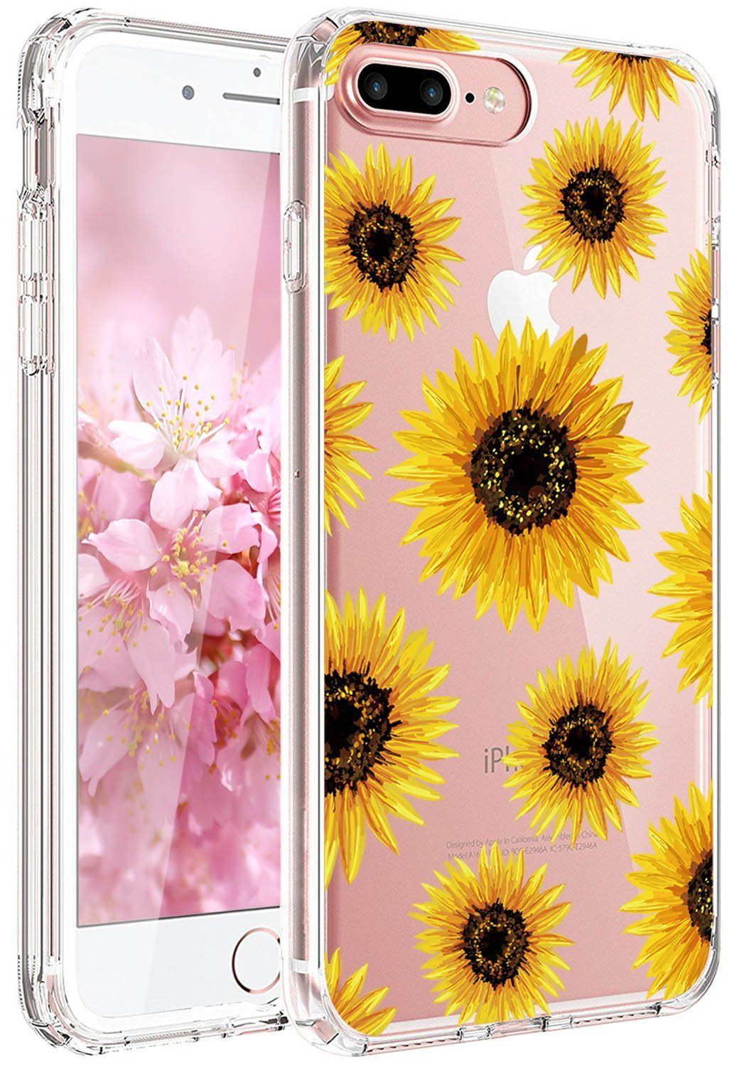 Sun Flowers Phone Case For Girls Iphone 6 Floral Iphone Case Retro Wallpaper Iphone Iphone