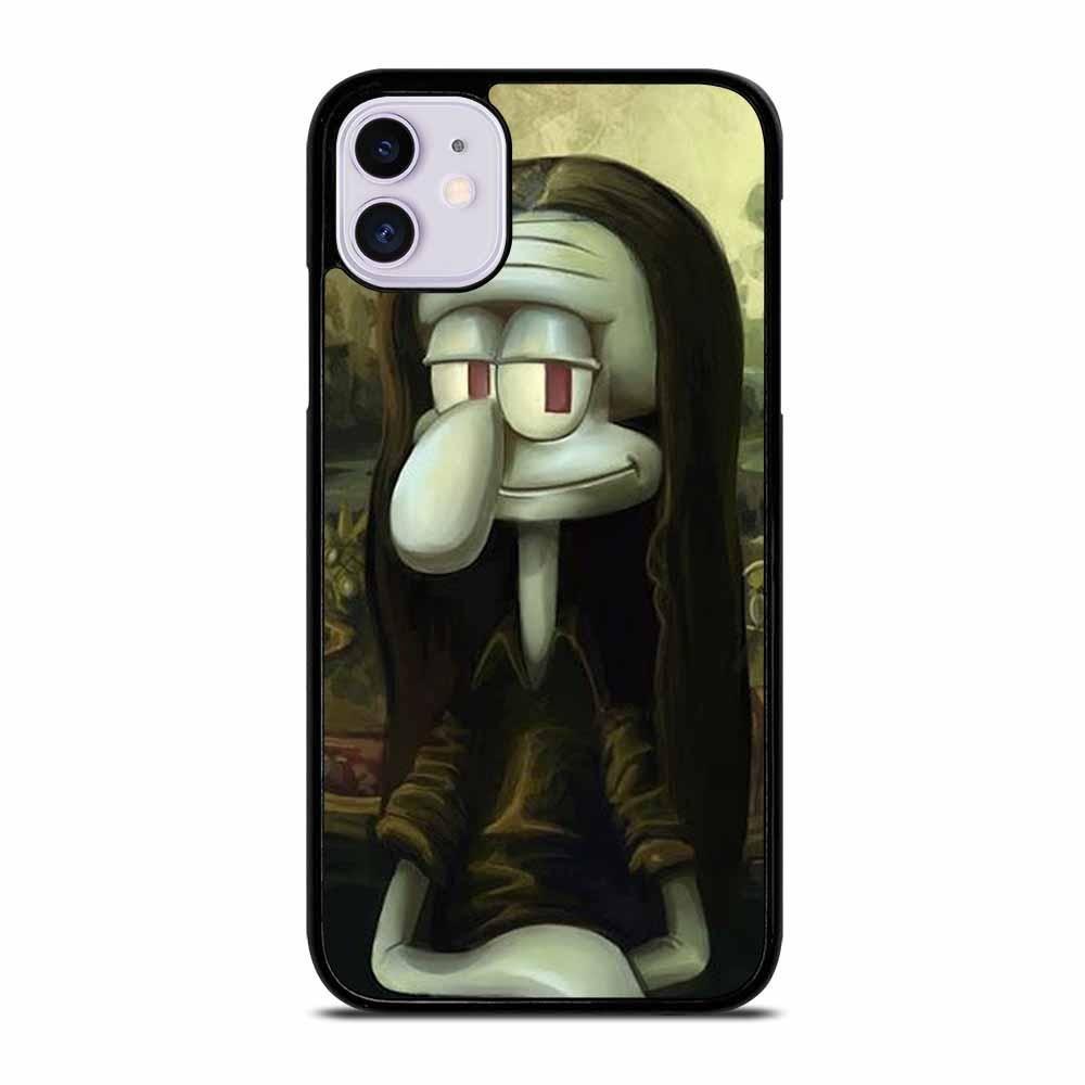 Squidward Parody Mona Lisa Iphone 11 Case Iphone 11 Iphone 11 Pro Case Iphone