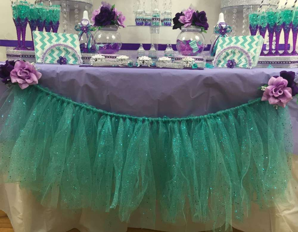 Little Mermaid Baby Shower Baby Shower Party Ideas In 2018 Baby