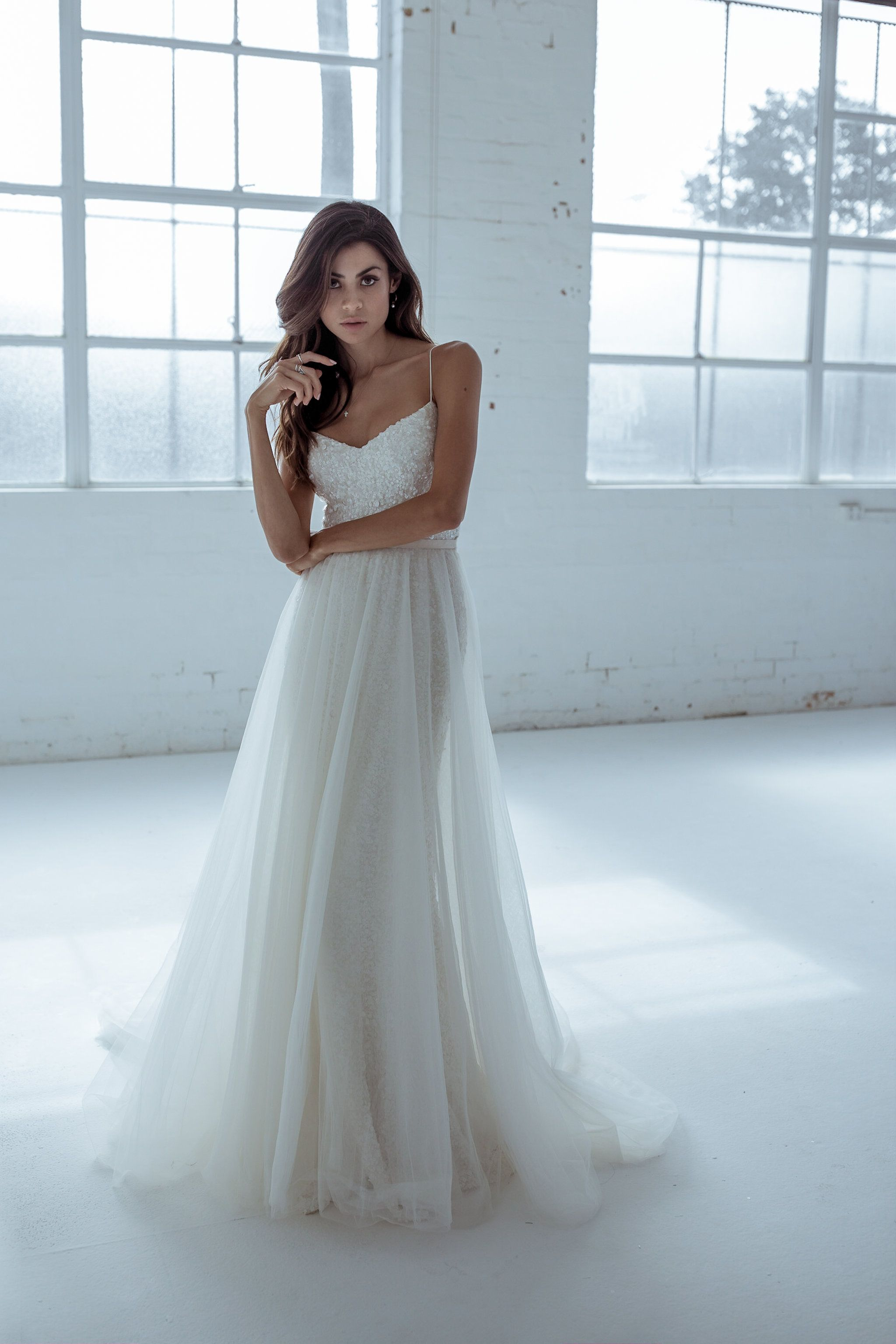 Maggie Overskirt | wedding dresses | Pinterest | Karen willis holmes ...