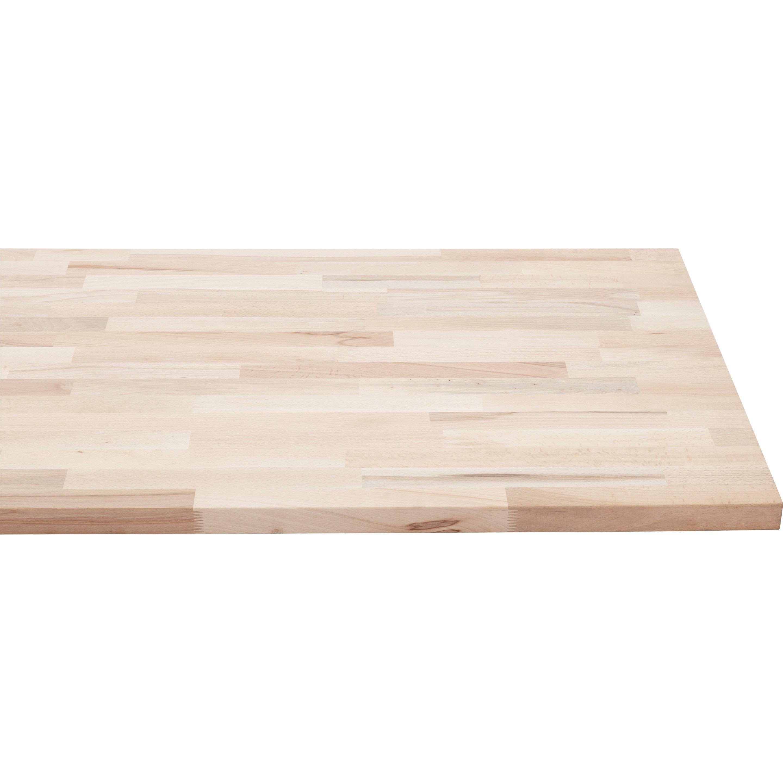 Huile Pour Escalier Hetre plan de travail bois hêtre mat l.250 x p.65 cm, ep.36 mm