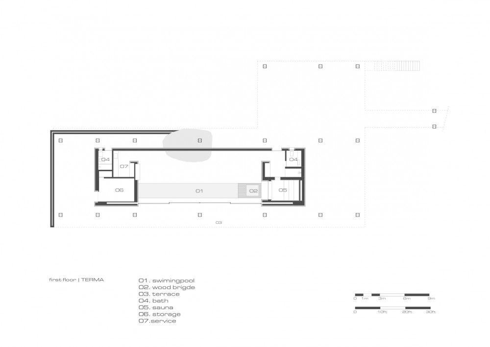 Br house marcio kogan floor plans floors and house for Marcio kogan plans