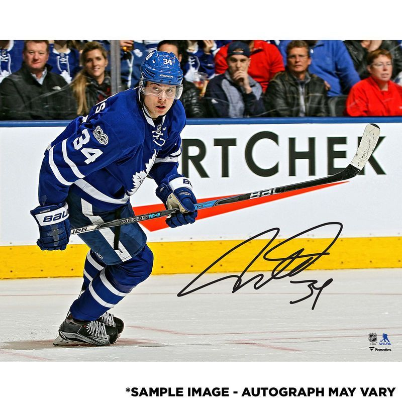 68b5f719 Auston Matthews Toronto Maple Leafs Fanatics Authentic Autographed 16