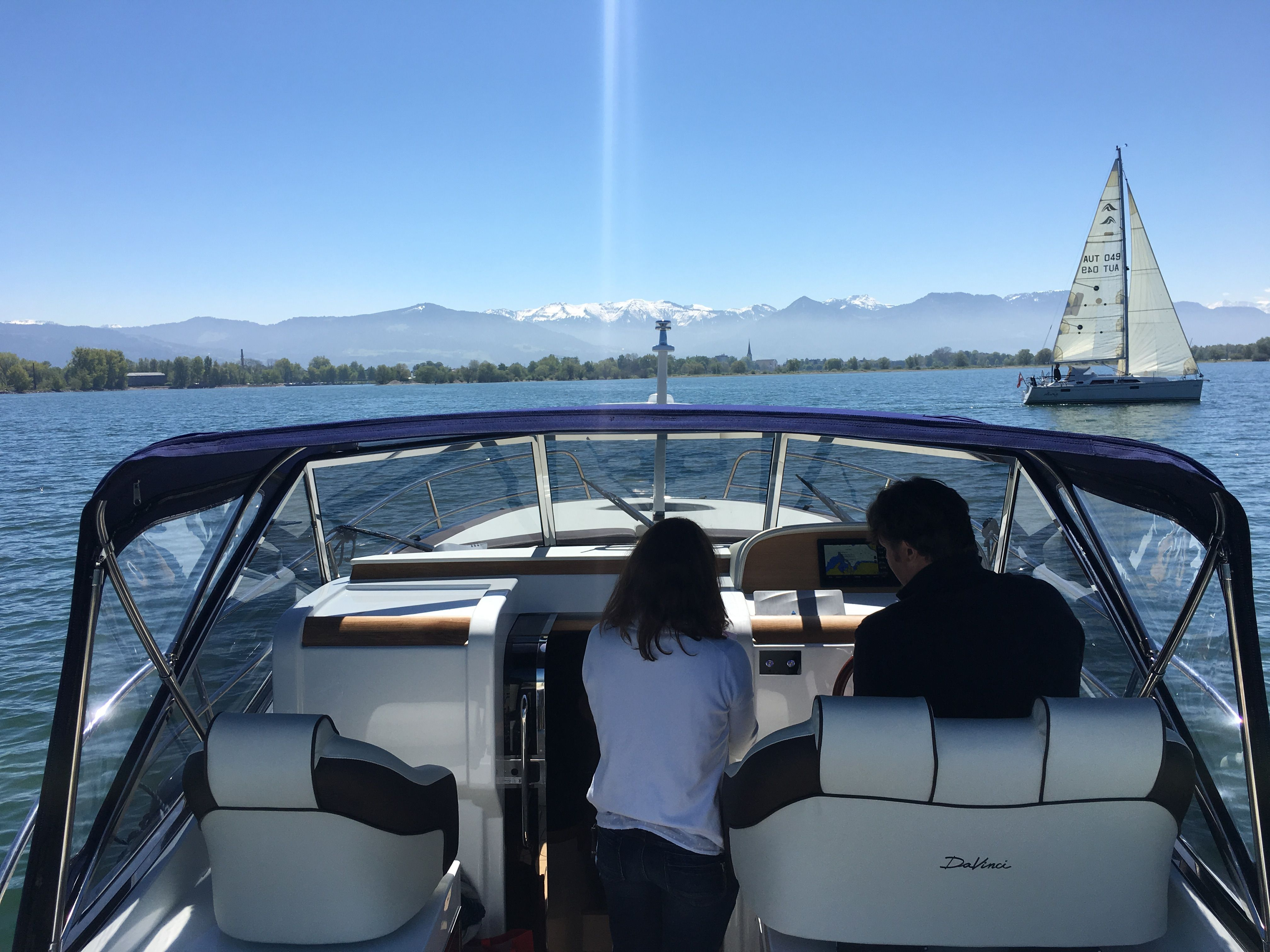 Discovering Austria With A Davinci Yacht Davinci Motoryachts Austria Davinci Yachts Worldwide Motor Yacht Sailing