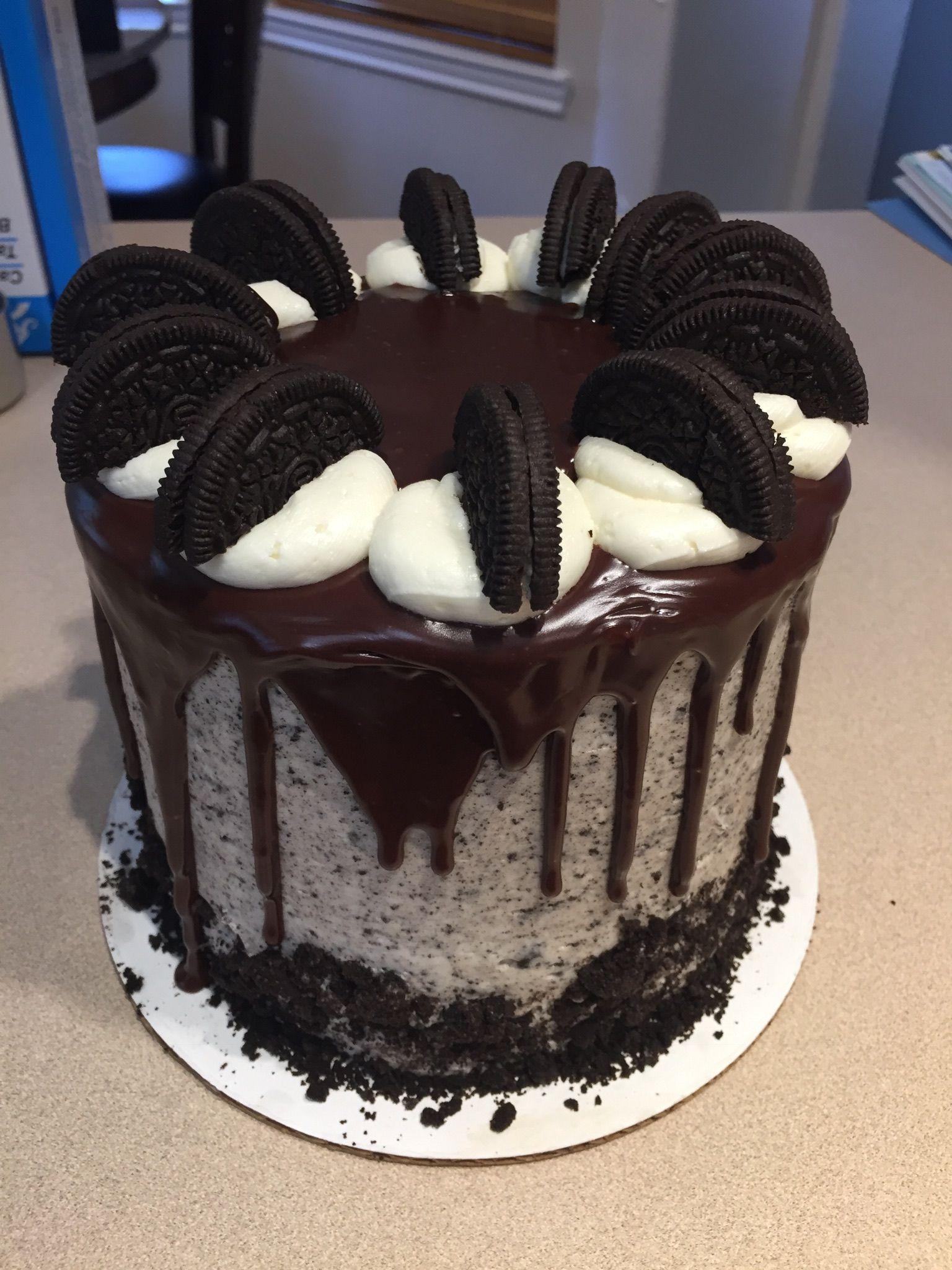 Oreo cookie cake | Cake, Cake decorating, Oreo cookie cake