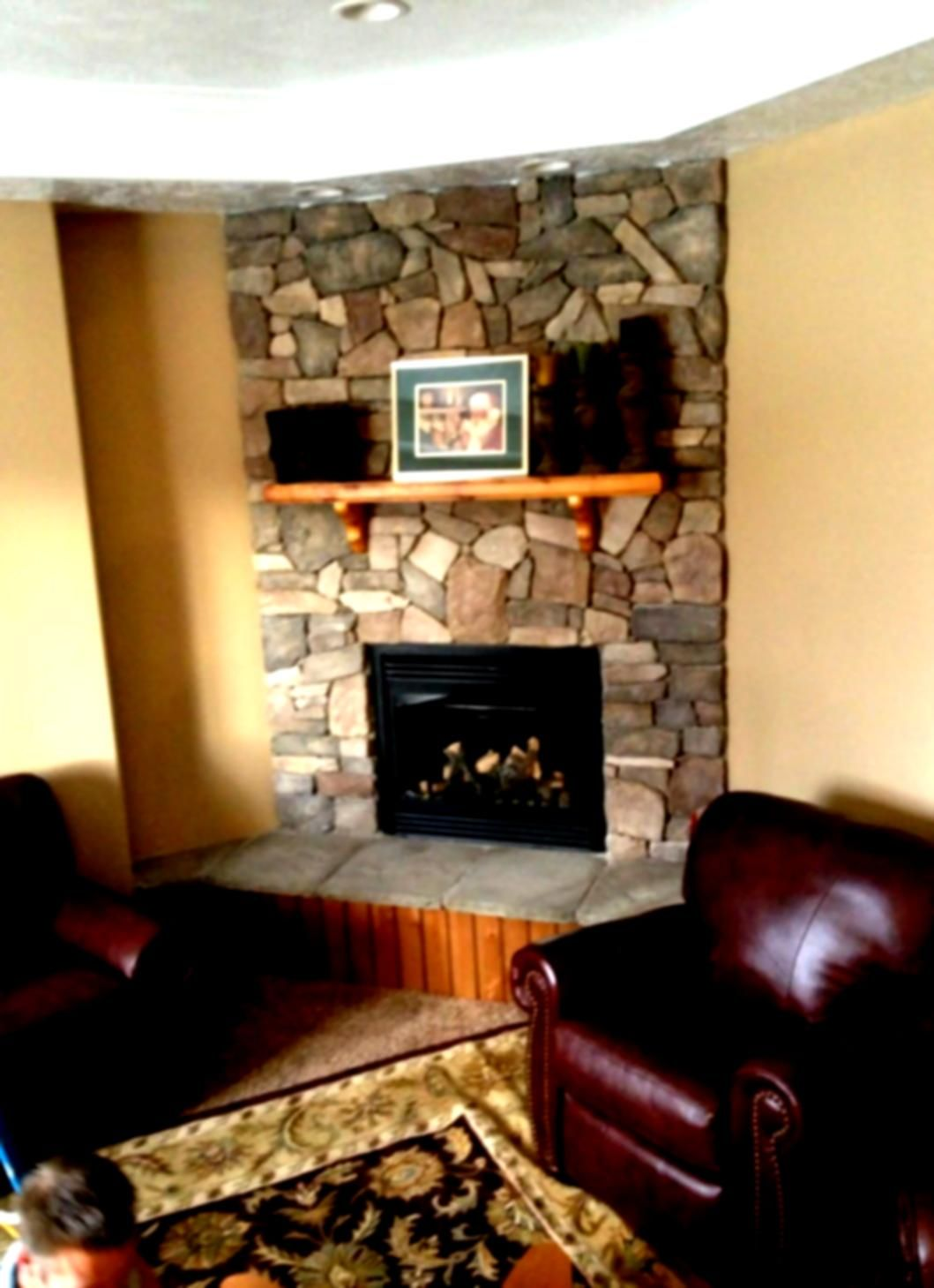 Find Ideas And Inspiration For Tiled Fireplaces To Add To Your Own Home. # Fireplace
