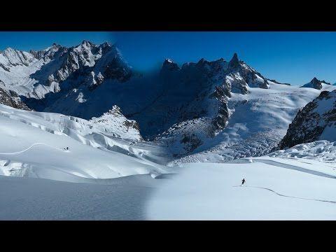 Traverse de la Valle Blanche Aiguille du Midi Petit Envers du Plan