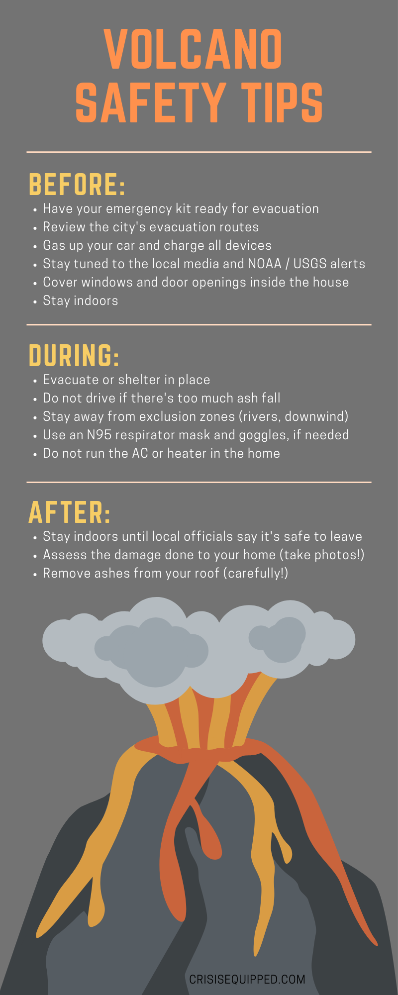 Volcano Preparedness Guide in 2020 Workplace safety tips