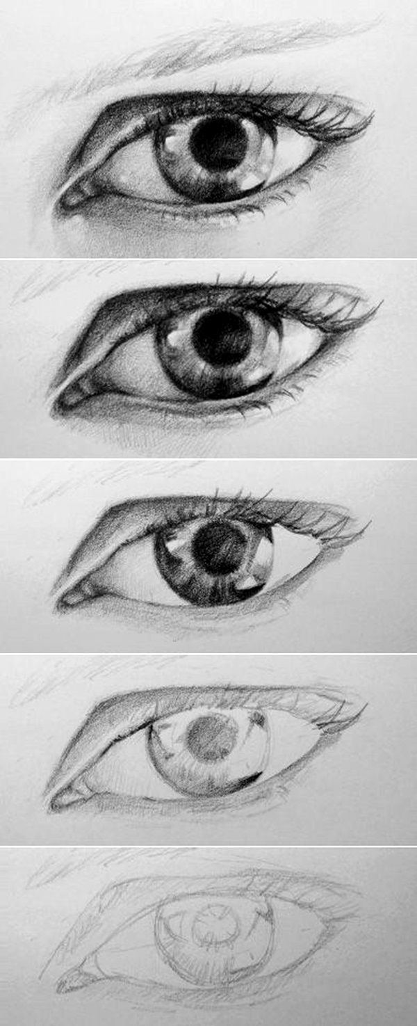 How To Draw An Eye  40 Amazing Tutorials And Examples
