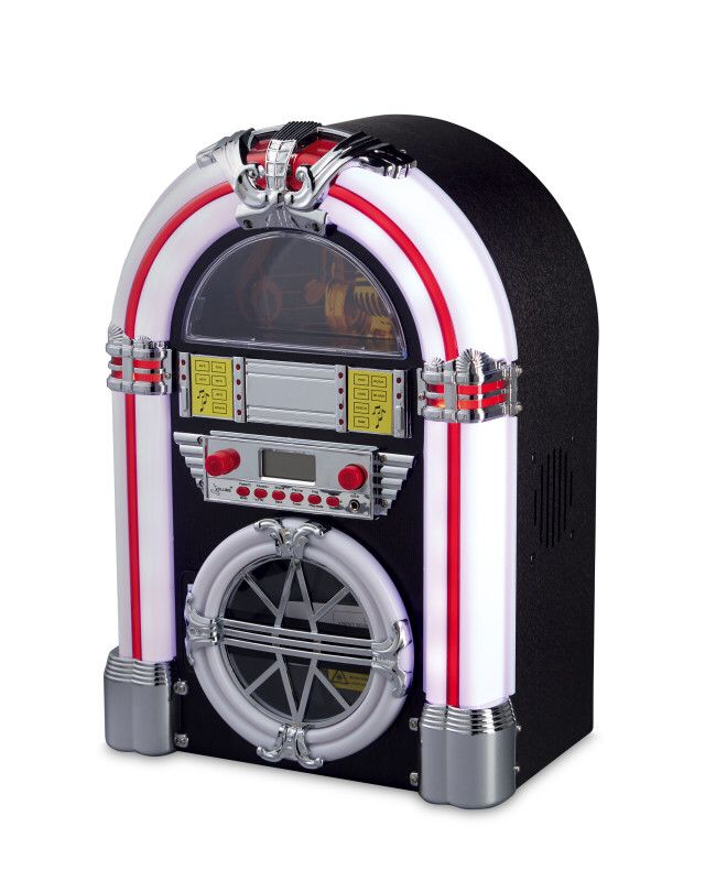Pin by First and on Vintage Home | Jukebox, Vintage, Bluetooth