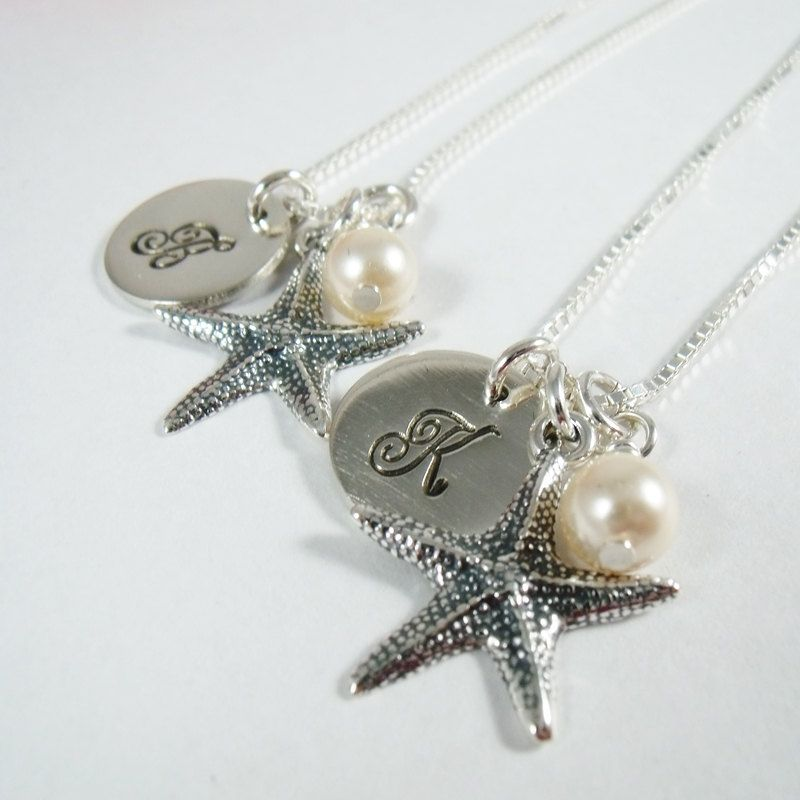 Set of 5 Personalized Bridesmaids Gifts  by CharitableCreations, $179.95