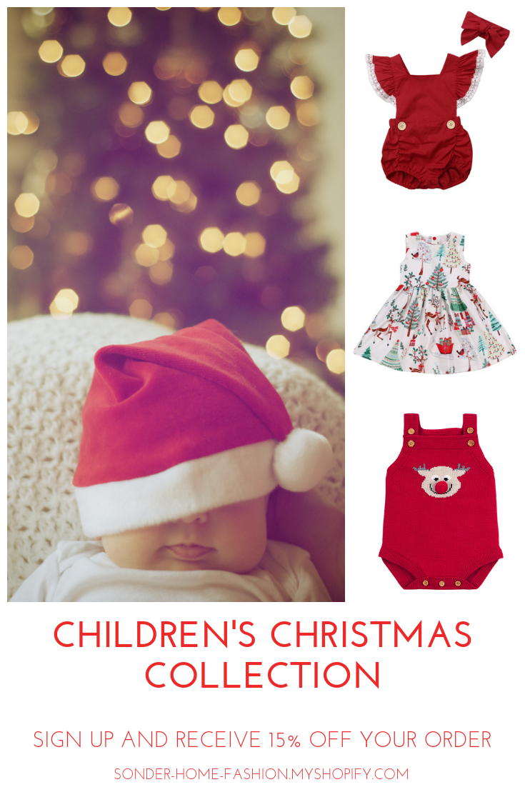 Shop for adorable children's Christmas clothing  *Sign up