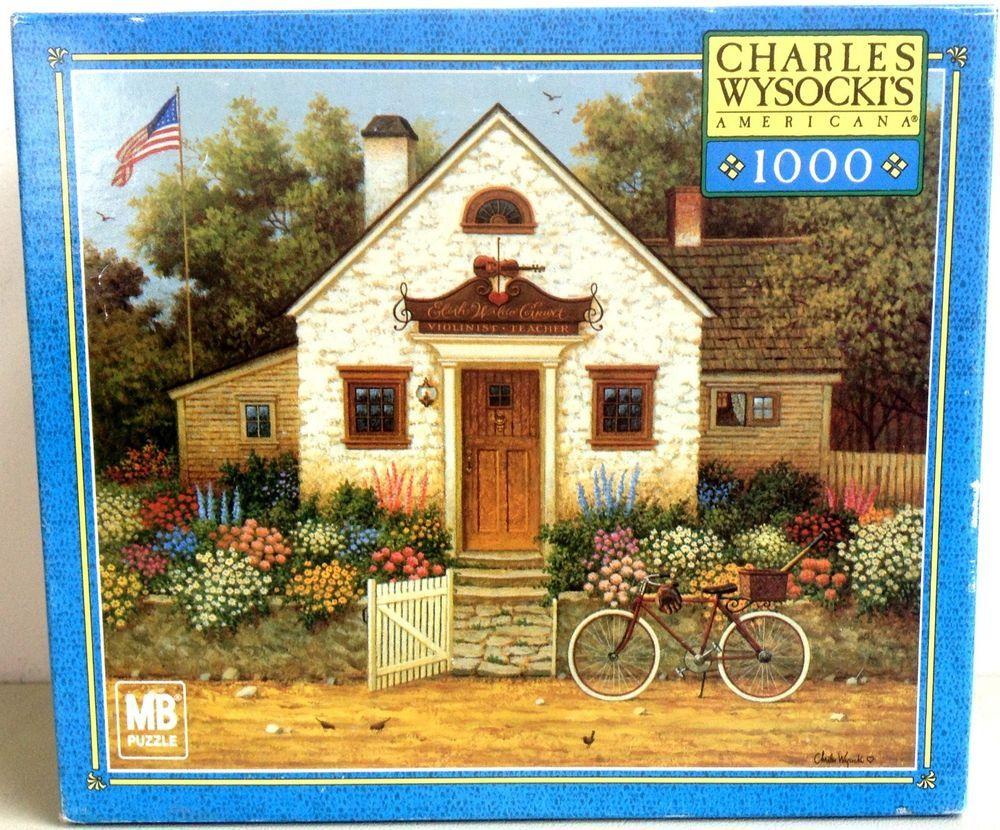 Charles Wysocki 1000 Piece Jigsaw Puzzle Future Baseball Player or Violinist #MiltonBradley