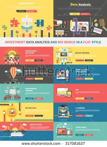 Concept Of Investment Analysis Of Data And Promotion ELearning