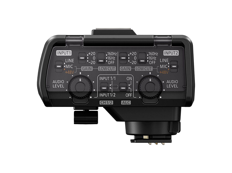 Micrófono de vídeo profesional 3-XLR Estéreo Para SONY Panasonic Cámara Videocámara