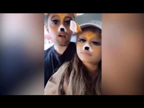 is Ariana Grande dating in het weekend