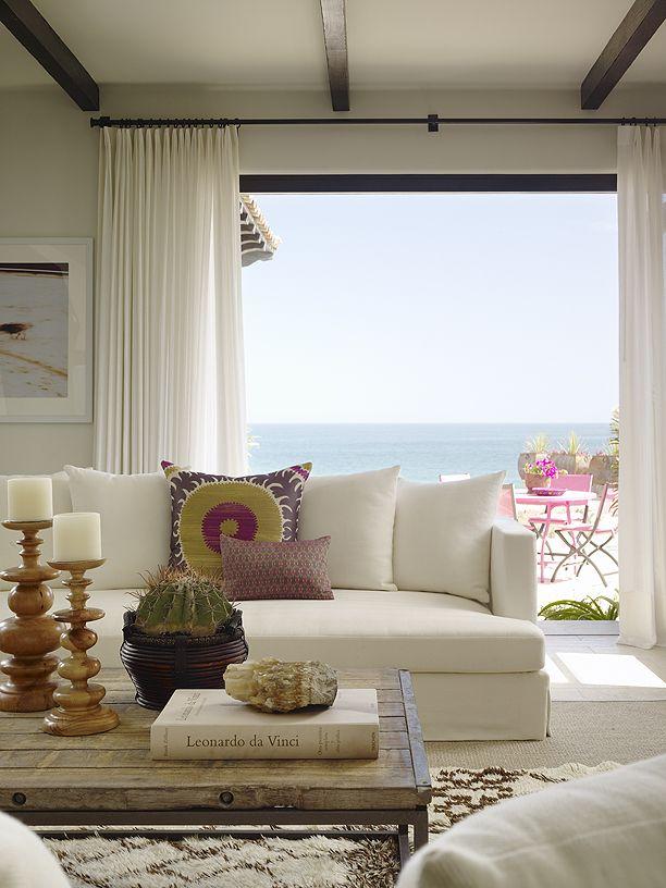 simply beautiful...kara mann design, ocean front villa