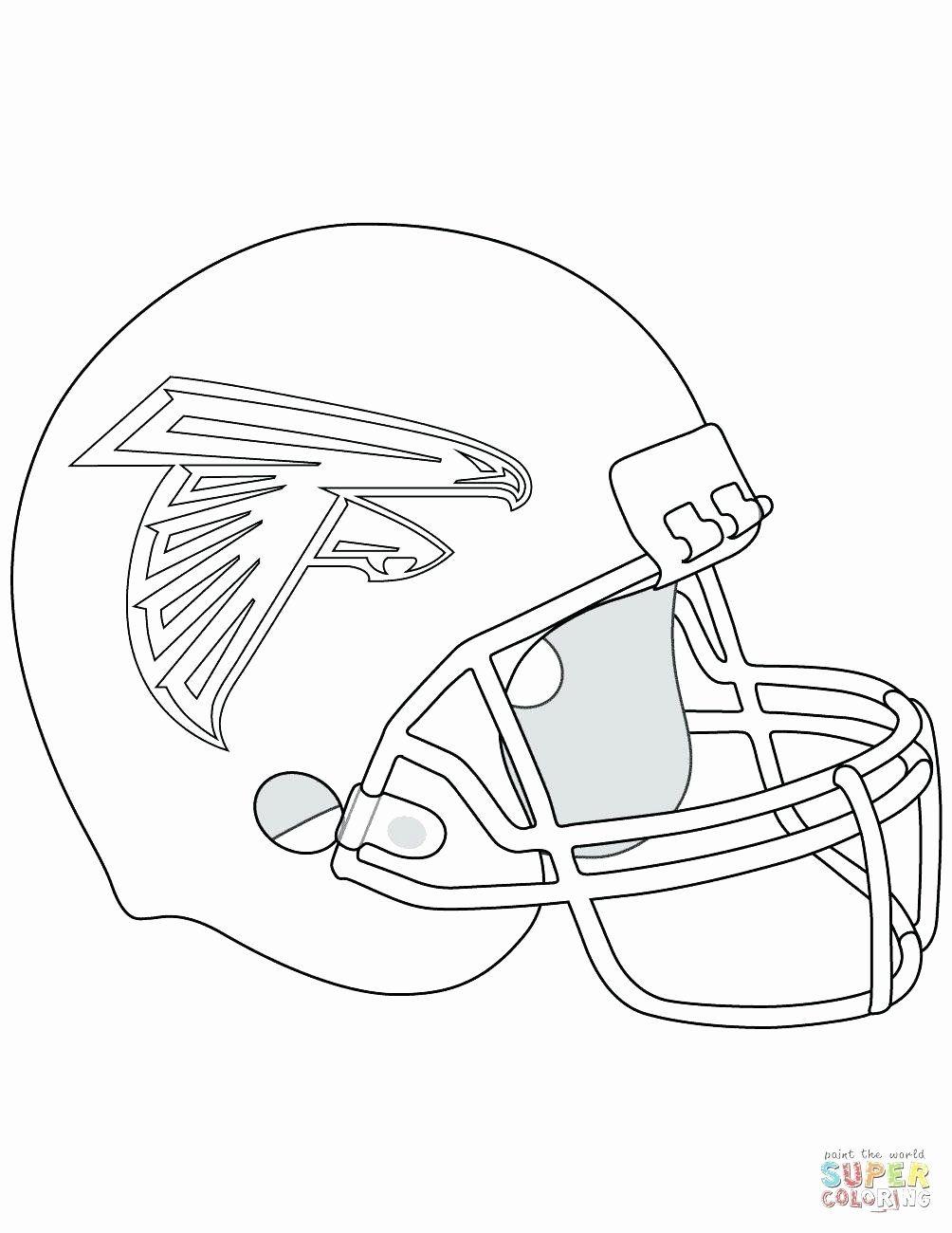 Super Coloring Sport Fresh Seattle Seahawks Coloring Page Redbirdcolor Football Coloring Pages Falcons Helmet Atlanta Falcons Helmet
