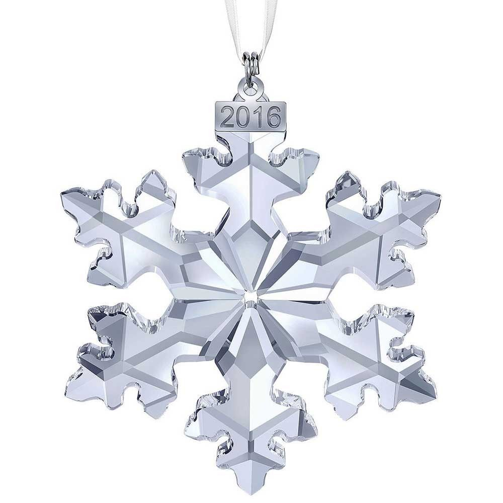 Christmas snowflake ornaments - Swarovski Christmas Snowflake Ornament Annual Edition 2016 5180210