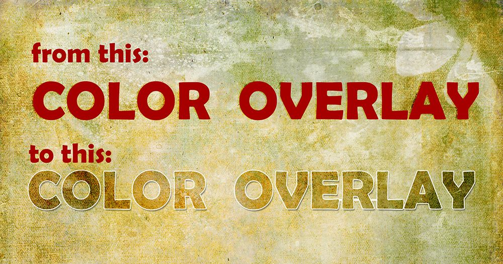 This month we are exploring Photoshop Layer Styles. (Photoshop Styles 101: The Stroke;  How to Load Layer Styles) Today let's look at the Color Overlay effect. It is simple to use a…