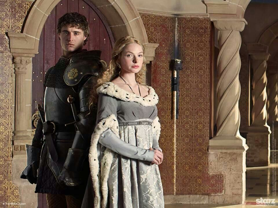 King Edward and Queen Elizabeth The White Queen The