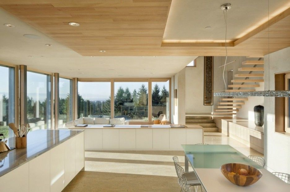 Contemporary Duplex House Designed In Passive House Concept Open