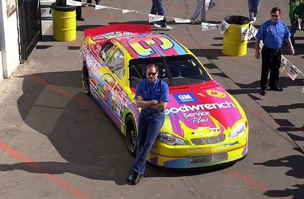 94351ca6f84ec Peter Max car. My favorite special paint scheme. Dale hated this scheme.lol