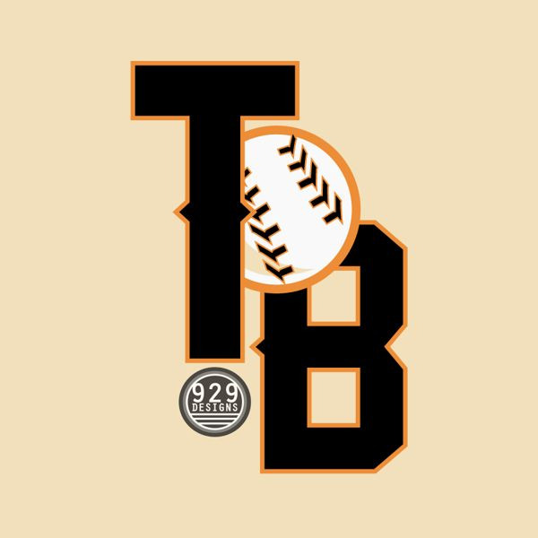 """""""Thiessen Baseball"""" by Robbie Thiessen, via Behance. My Sports themed vector logos! Pin and like!"""
