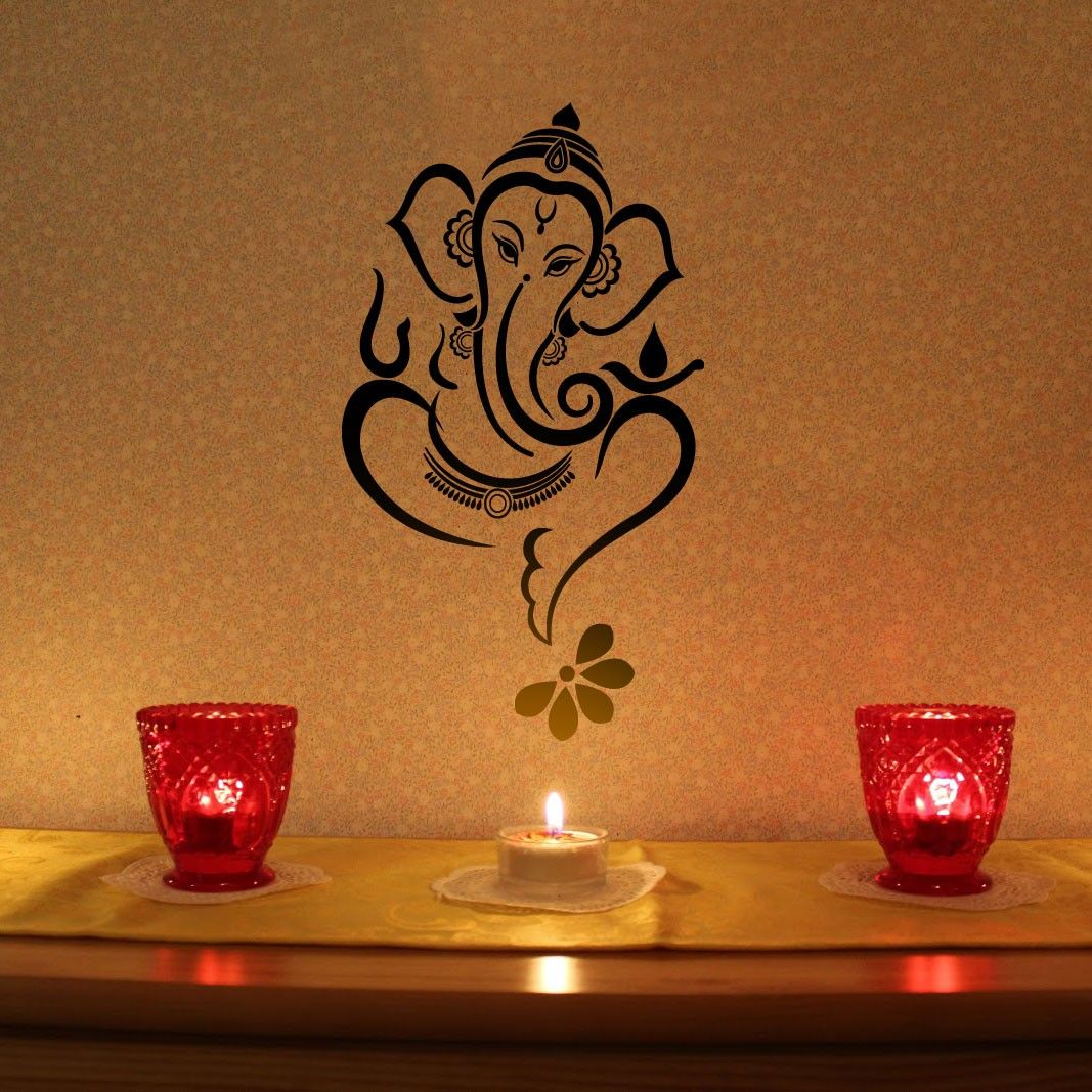 embellish your wall with this lovely ganesha vinyl wall sticker embellish your wall with this lovely ganesha vinyl wall sticker made by walldesign