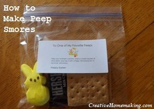 Looking for a quick inexpensive gift idea for a friend these looking for a quick inexpensive gift idea for a friend these peep smores are negle Choice Image