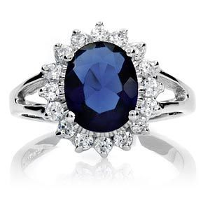Spectacular Kate Middleton Us Sapphire Ring Previously Worn By Prince William Mother Lady Diana Spencer