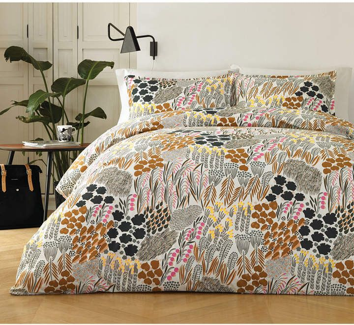 Marimekko Pieni Letto 3 Pc Full Queen Comforter Set Bedding Comforter Sets 100 Cotton Duvet Covers Cotton Comforter Set