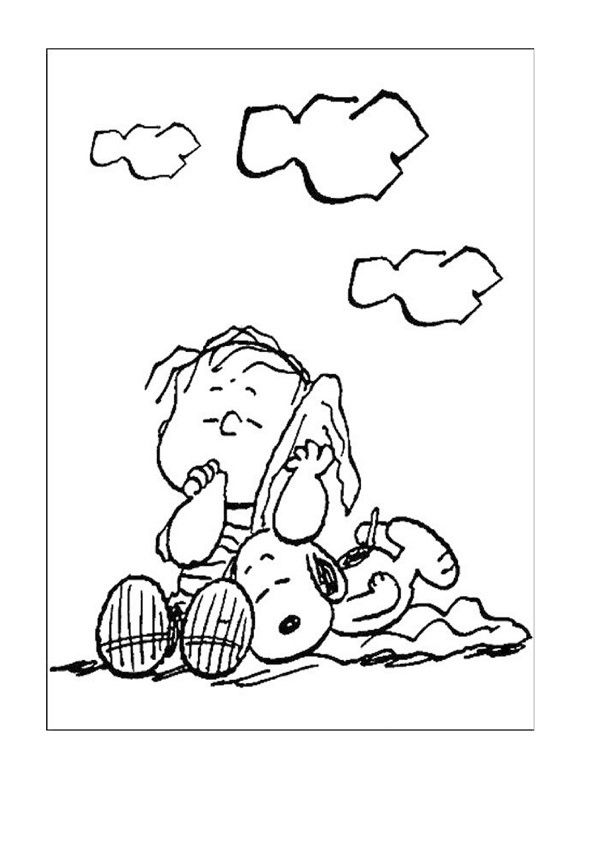 Snoopy Coloring Pages 22 | Coloring pages for kids | Pinterest